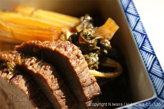 はちみつレシピオーストラリア産ユーカリはちみつアイアン・バーク入り牛肉とセロリの煮物3