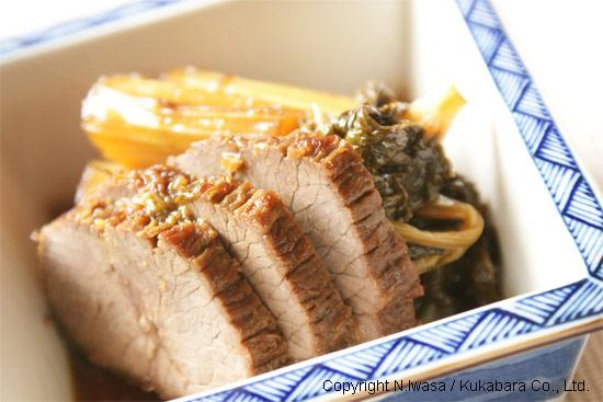 はちみつレシピオーストラリア産ユーカリはちみつアイアン・バーク入り牛肉とセロリの煮物5