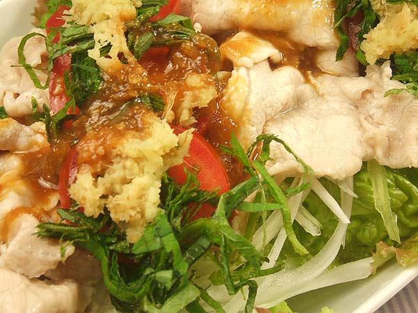 蜂蜜レシピはちみつダレで食べる豚しゃぶサラダ3