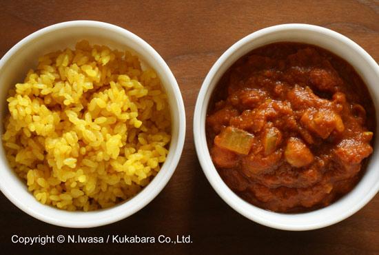 ユーカリはちみつレシピ「ひよこ豆のカレー」2
