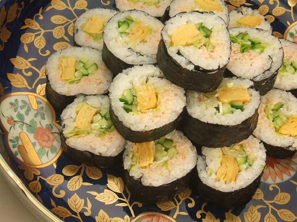 はちみつを使ったアイデアいろいろ節分にはちみつ柚子胡椒マヨネーズで食べる恵方巻き3