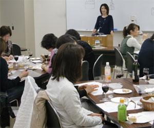NHK文化センター栄チーズとはちみつの講座100227b