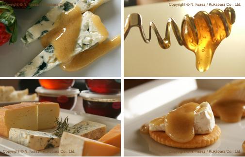 チーズの食彩 はちみつとチーズのマリアージュa