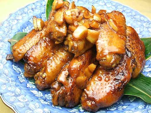 ミタミタユーカリはちみつ黒酢チキン1