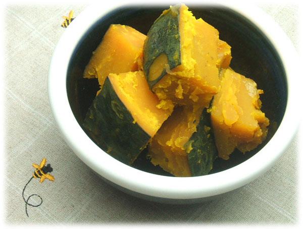 はちみつを使ったアイデアいろいろユーカリハチミツメスマイトで作るかぼちゃの煮物2