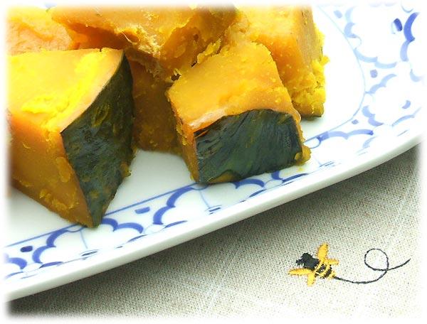 はちみつを使ったアイデアいろいろユーカリハチミツメスマイトで作るかぼちゃの煮物4