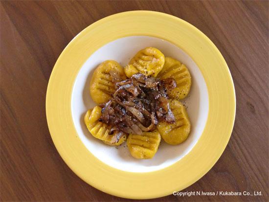 はちみつレシピオーストラリア産マヌカはちみつで作るかぼちゃのニョッキ4
