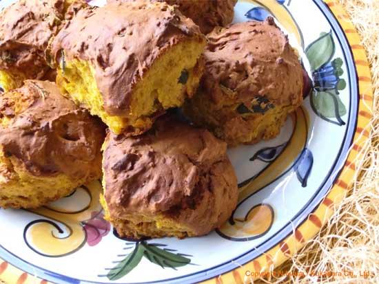 はちみつレシピオーストラリア産ユーカリはちみつレッド・ストリンギーバークで作るかぼちゃのスコーン4
