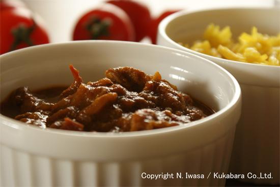 はちみつレシピ:ユーカリはちみつアイアン・バークで作るトマトと豚肉のカレー2